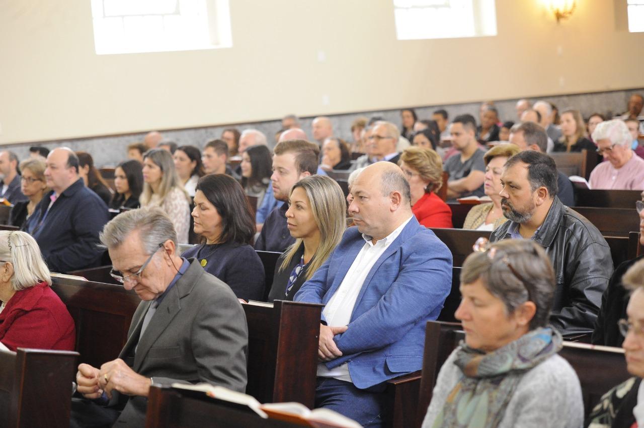 Culto na Igreja Luterana marca início das festividades do aniversário de Brusque