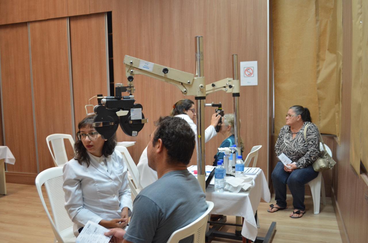 Mutirão de consultas oftalmológicas atende quase três mil pacientes em uma semana
