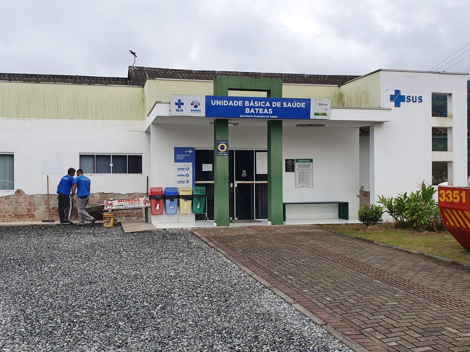 Obras na UBS Bateas, transferem atendimentos da população para a Policlínica Central