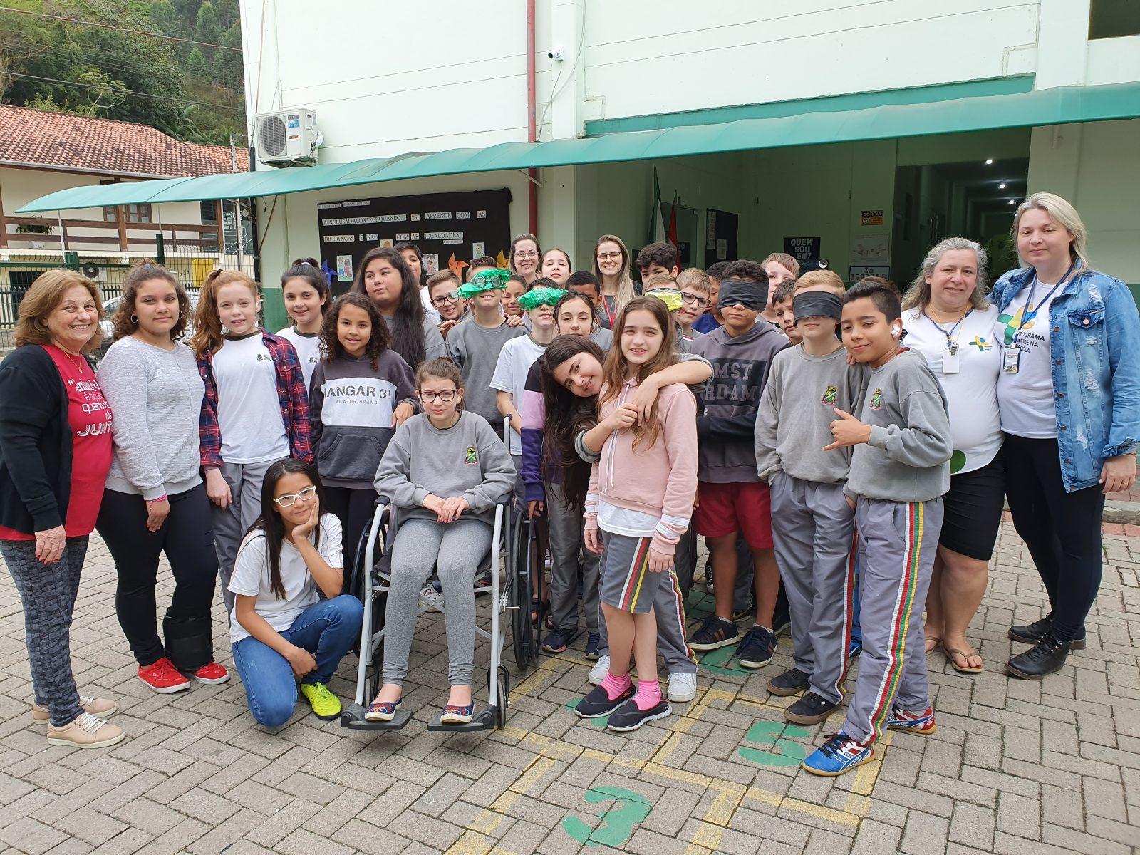 Escola Isaura Gouvêa Gevard participa de atividades sobre inclusão e diversidade