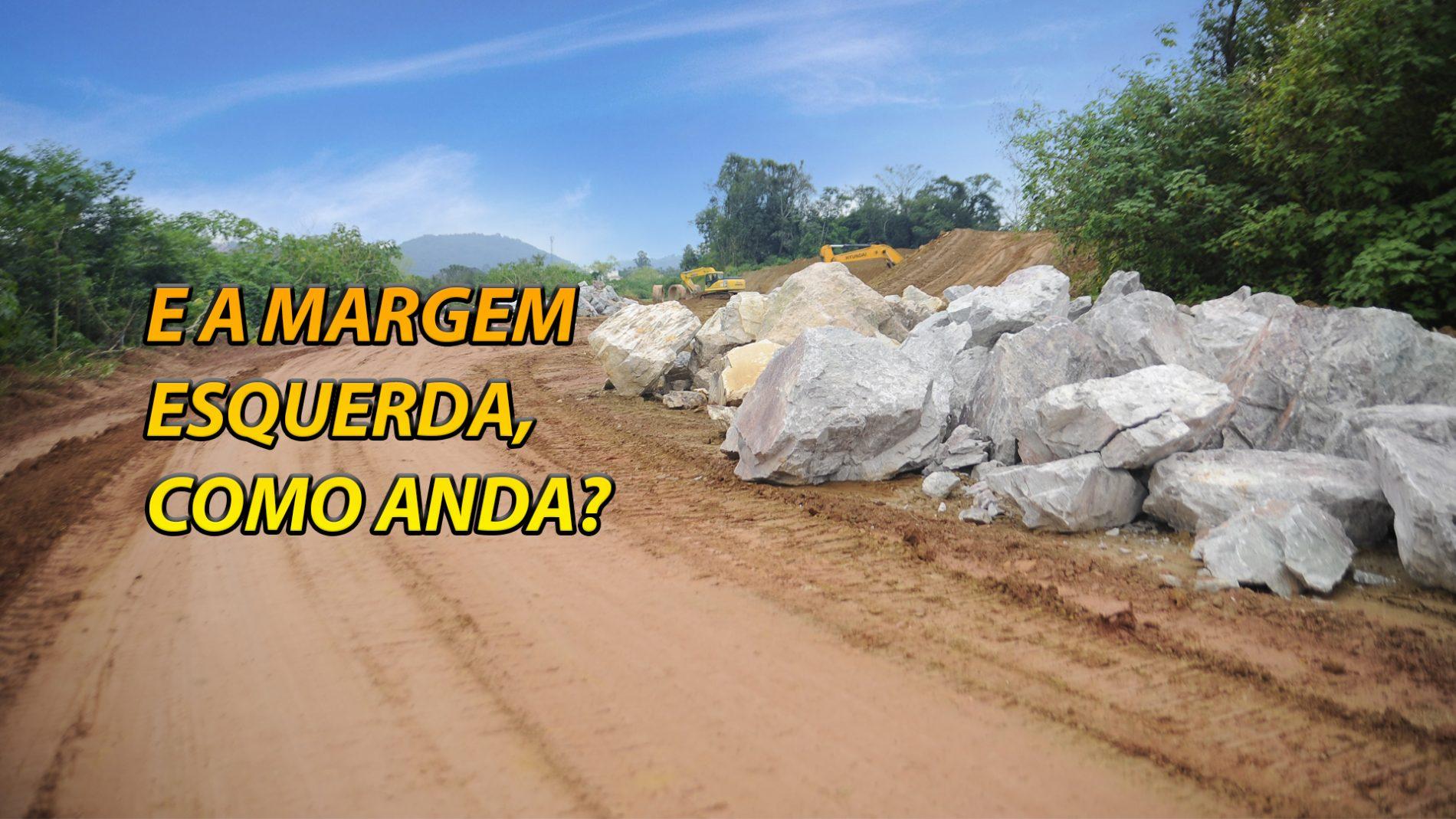 Como andam as obras da Margem Esquerda da Beira Rio? Assista!