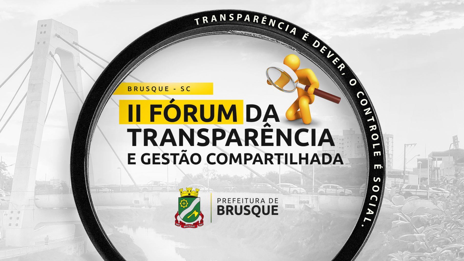 Vem aí mais um Fórum da Transparência!