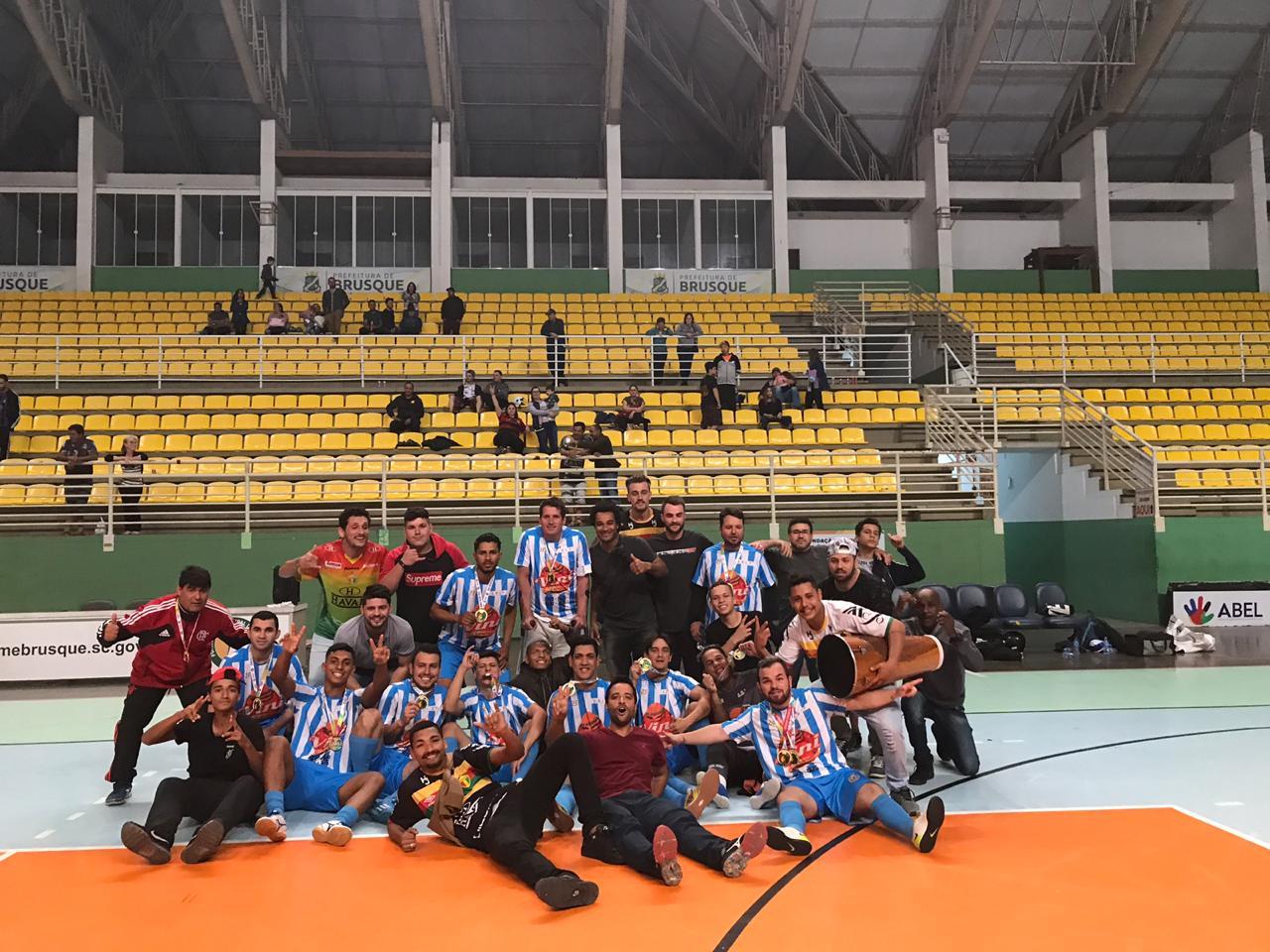 Planalto vence futsal livre e leva a última modalidade em disputa dos Jogos Abertos