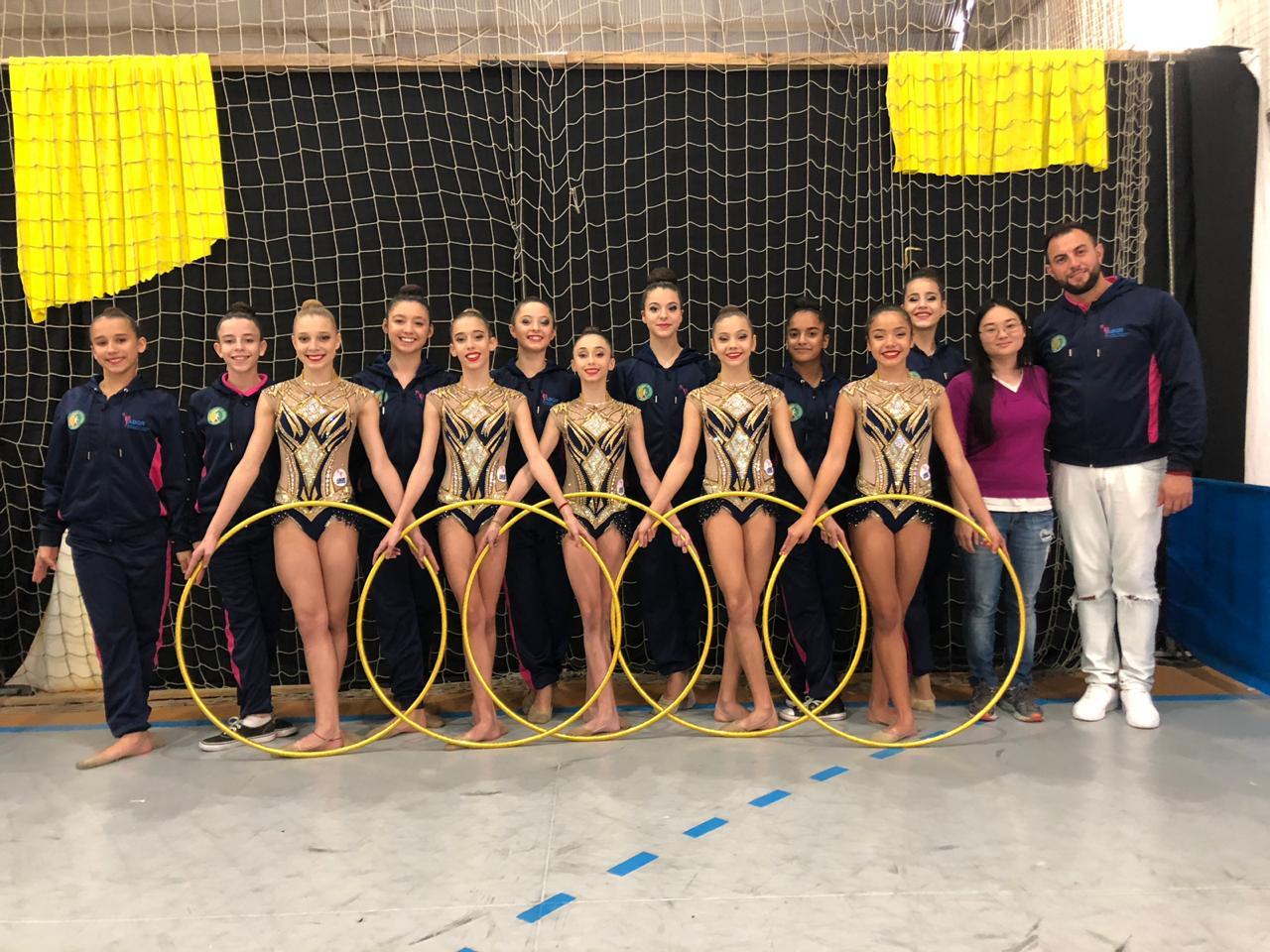 Projeto de ginástica rítmica atende cerca de 100 crianças em Brusque