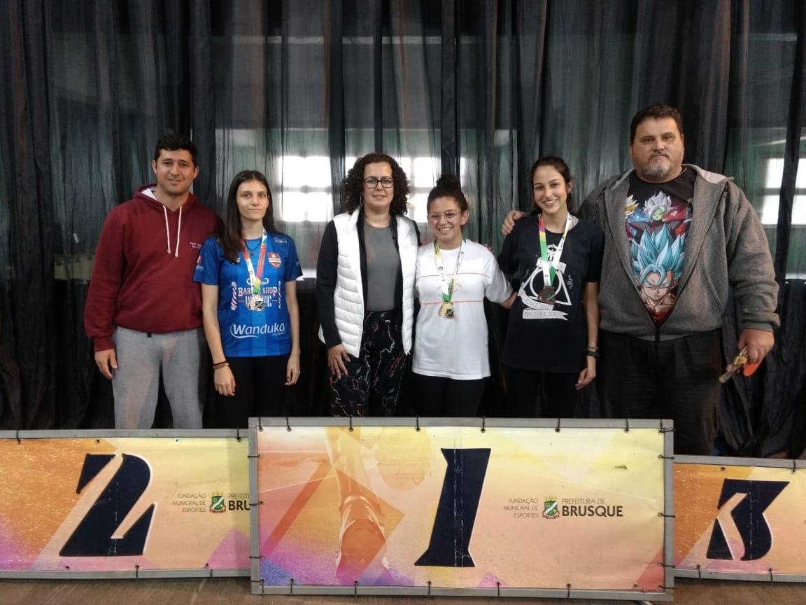 Jogos Escolares define os campeões do tênis de mesa