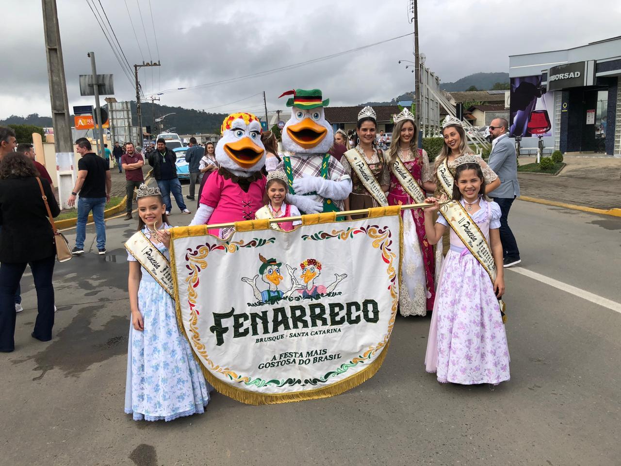 Prefeitura de Brusque divulga Fenarreco em Guaramirim (SC)