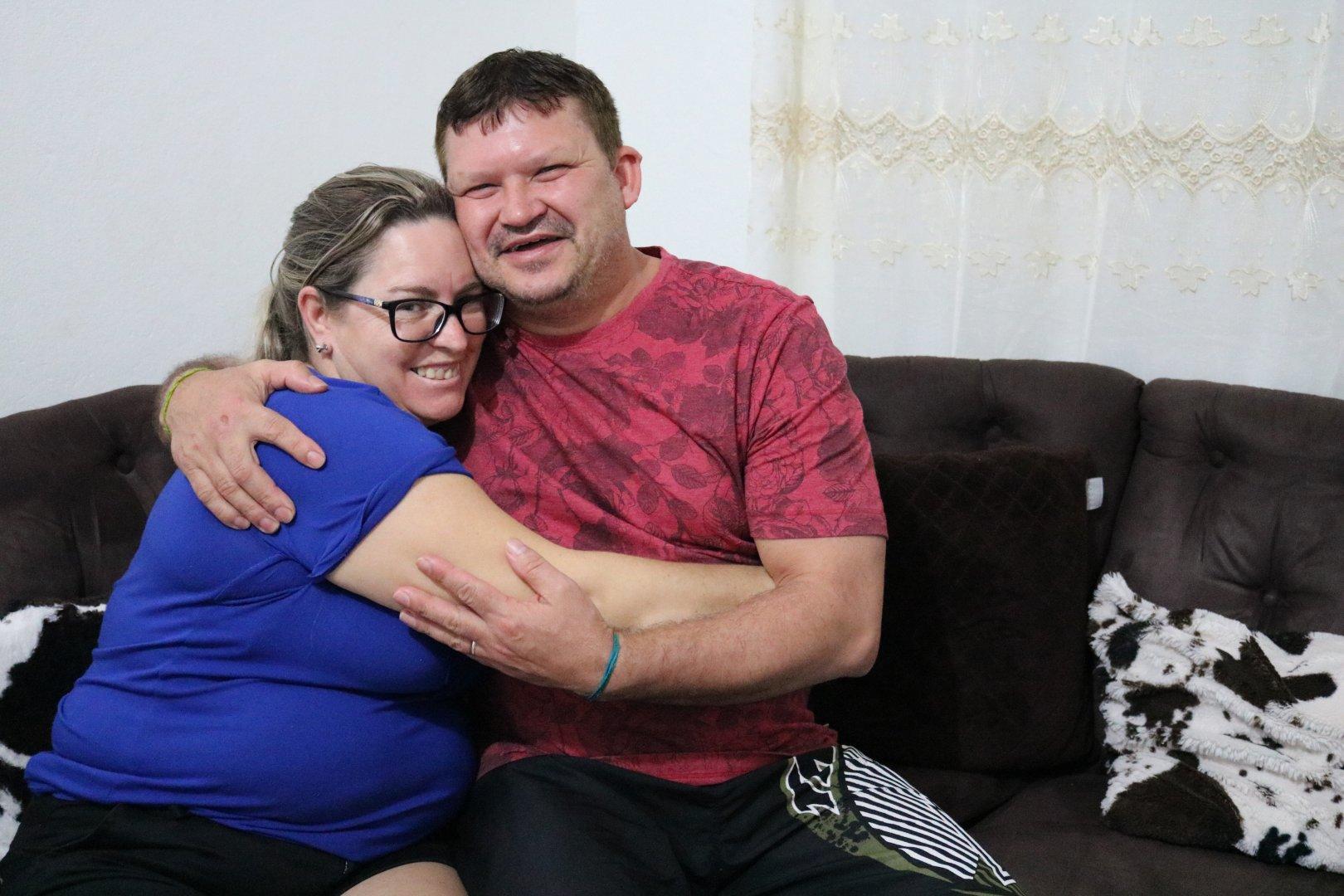 Destinos entrelaçados: Conheça a história de Vandoir e Janete, nascidos em Maravilha, eles se reencontraram em Brusque para celebrar o amor no casamento coletivo deste domingo (4)