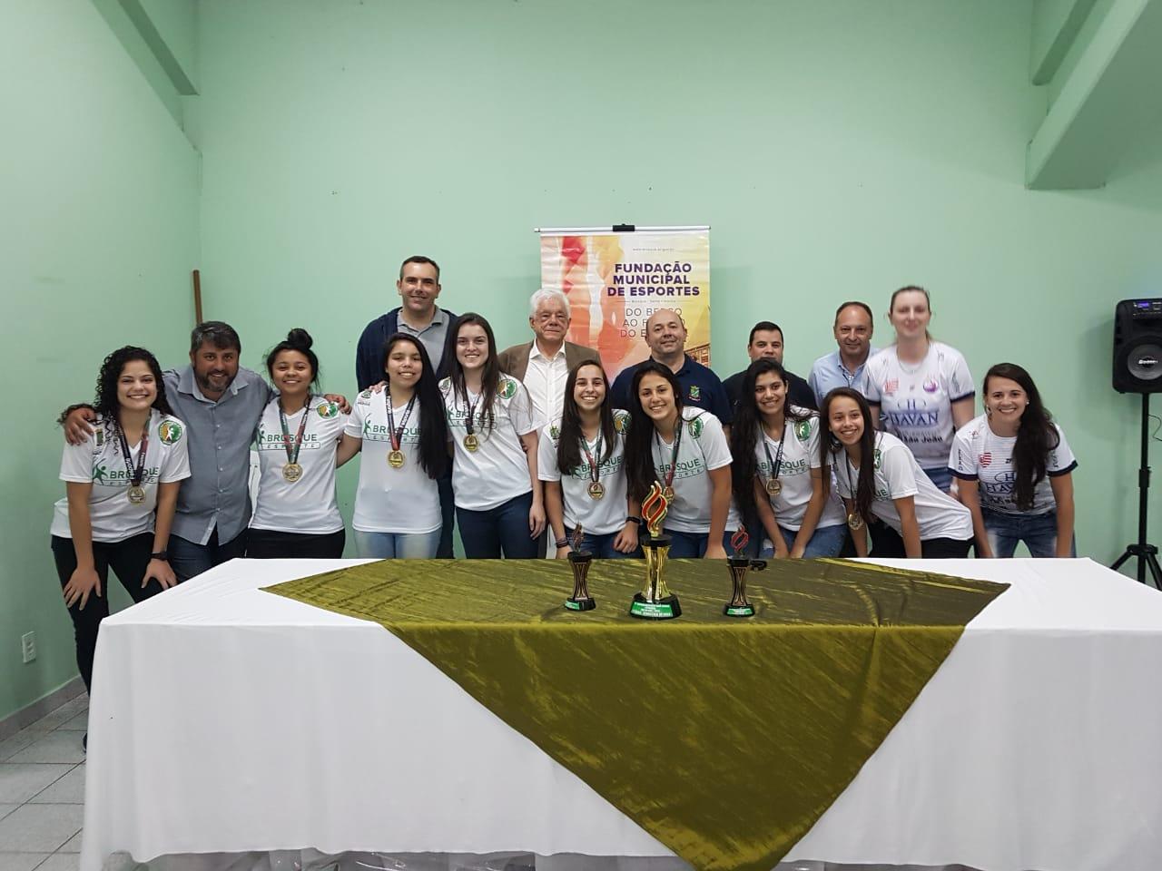 Prefeitura de Brusque promove evento de confraternização com atletas que representaram a cidade nos Joguinhos Abertos