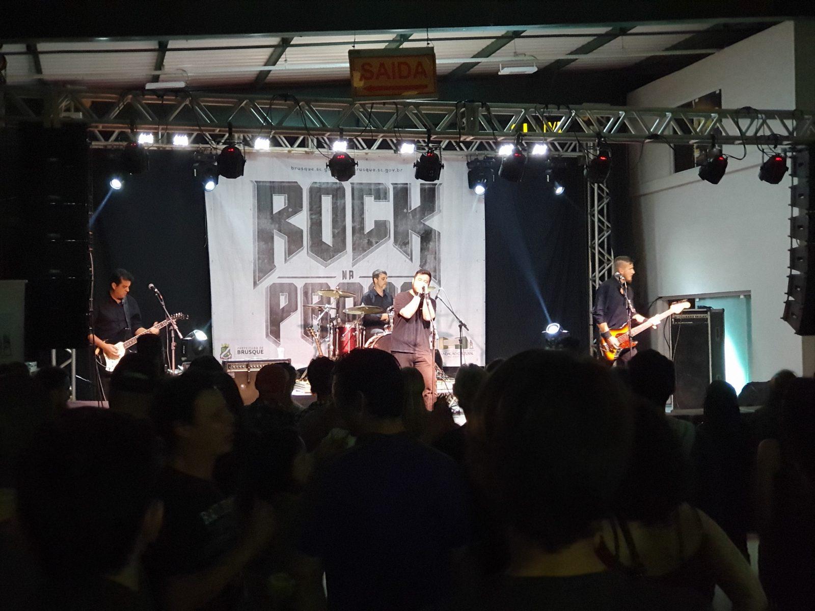 Rock na Praça 2019 é sucesso de público e presença de bandas consagradas no cenário regional e catarinense