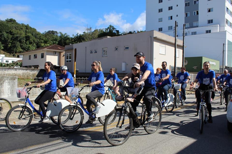 Passeio Ciclístico da GTB reúne cerca de 300 pessoas no fim de semana