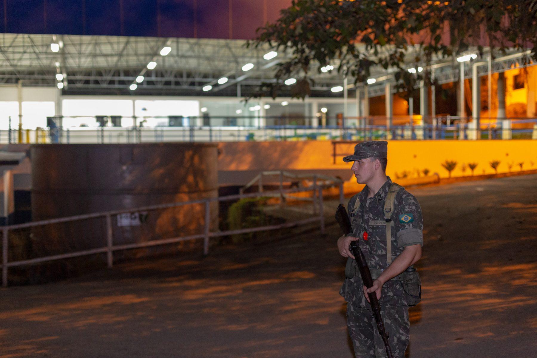 Tiro de Guerra realiza Exercício de Instrução de Garantia da Lei e da Ordem (GLO)