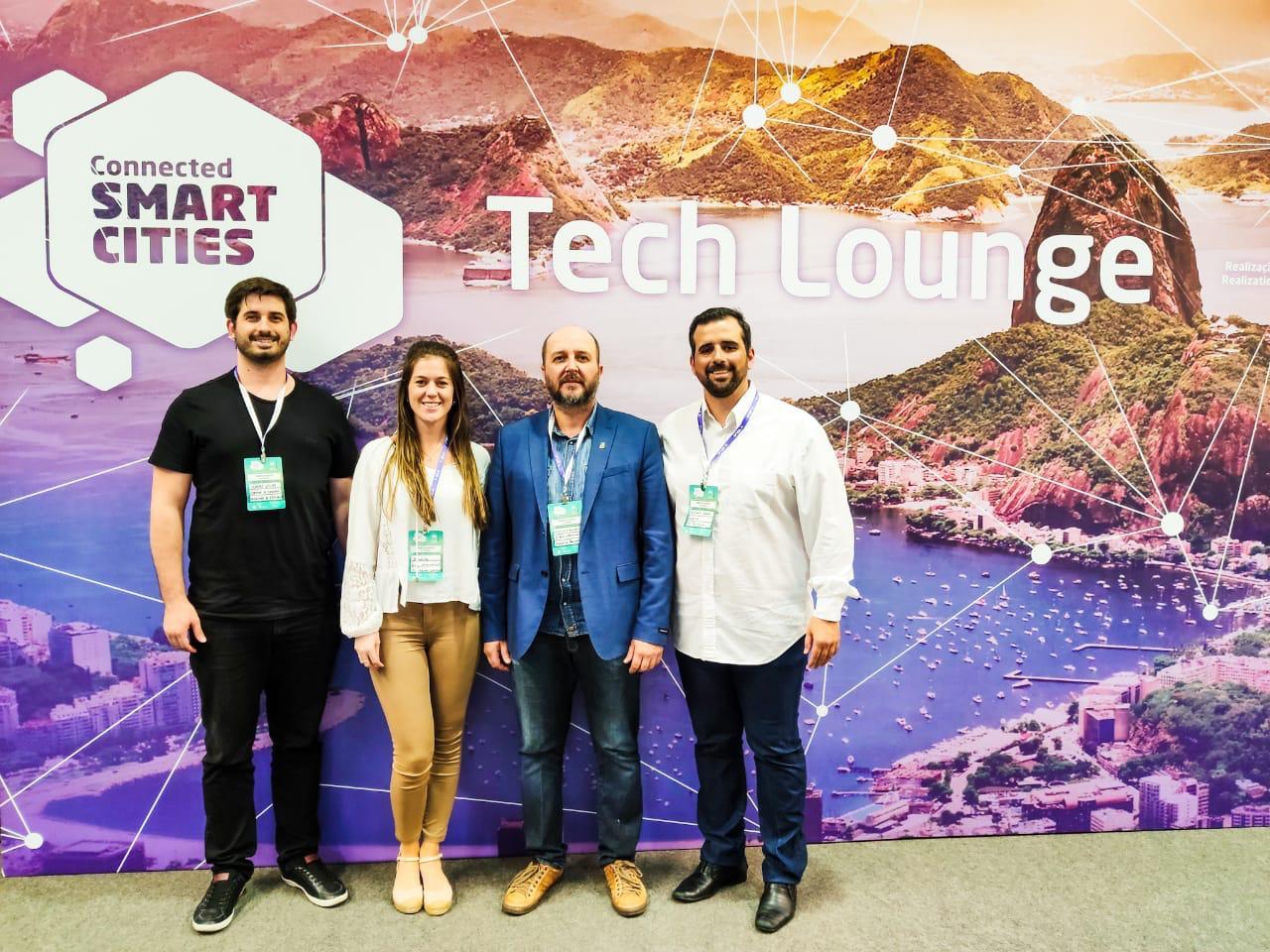 Brusque participa do Connected Smart Cities em São Paulo