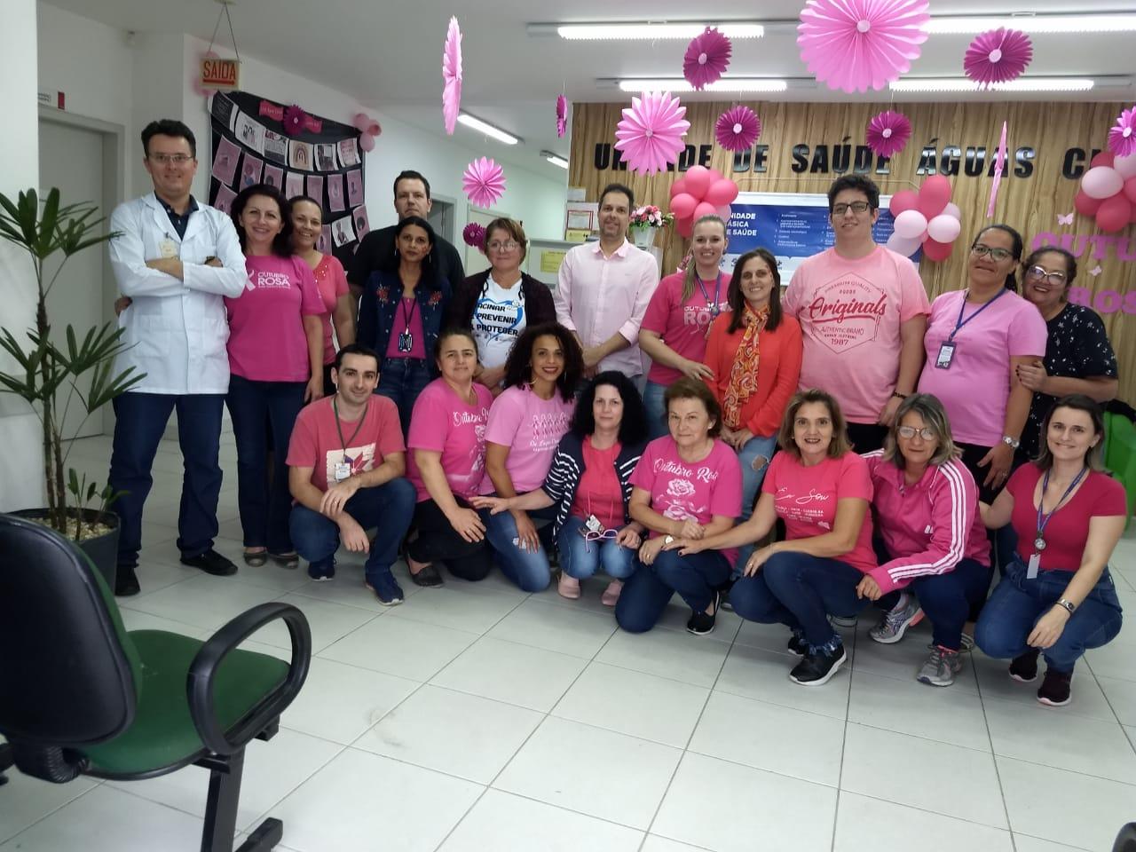 Evento do Outubro Rosa reúne quase 300 pessoas no Posto de Saúde de Águas Claras