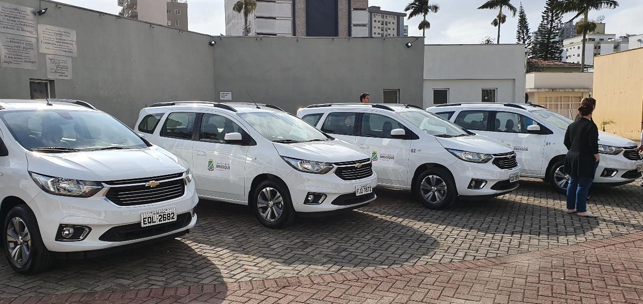 Novos veículos são incorporados a frota da Secretaria de Saúde