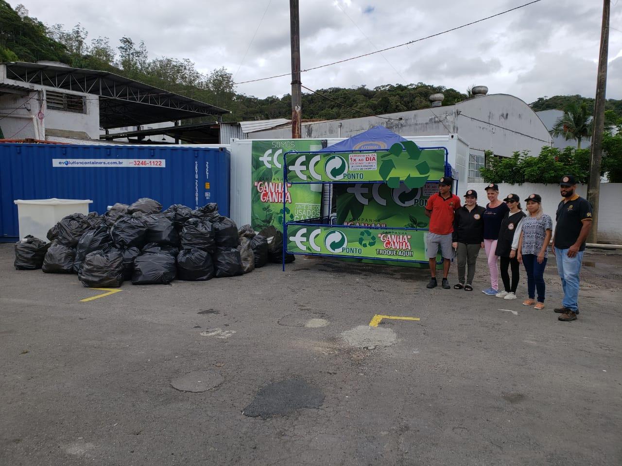 88500 copos descartáveis são retirados do meio ambiente durante 34ª Fenarreco
