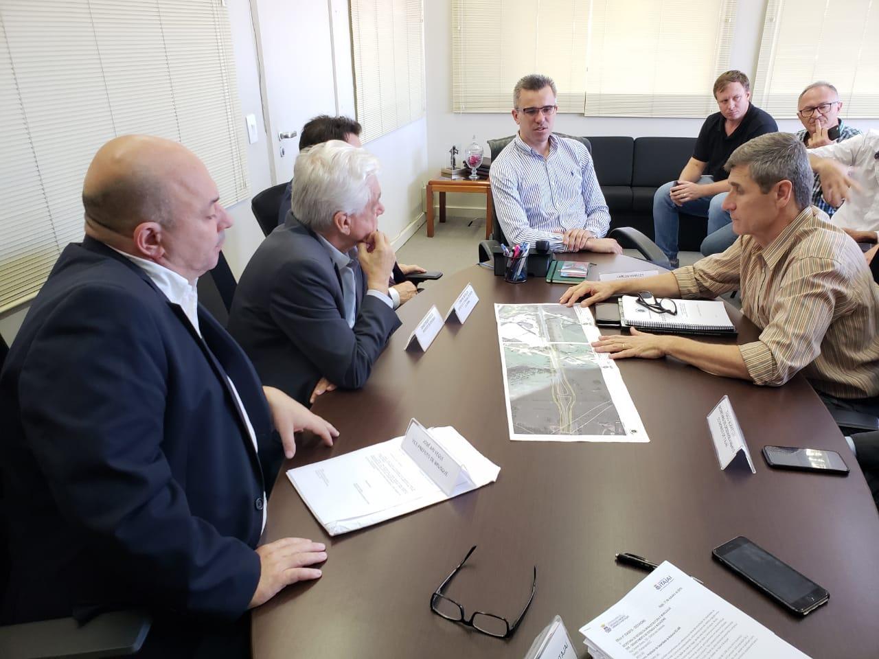 Governo do Estado liberará mais R$ 3 milhões para obra da Antônio Heil, que terá novo acesso na altura do Mineral Água Park