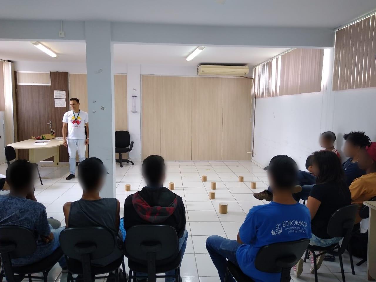 Secretaria de Assistência Social realiza ação para adolescentes e jovens adultos em cumprimento de Medida socioeducativa