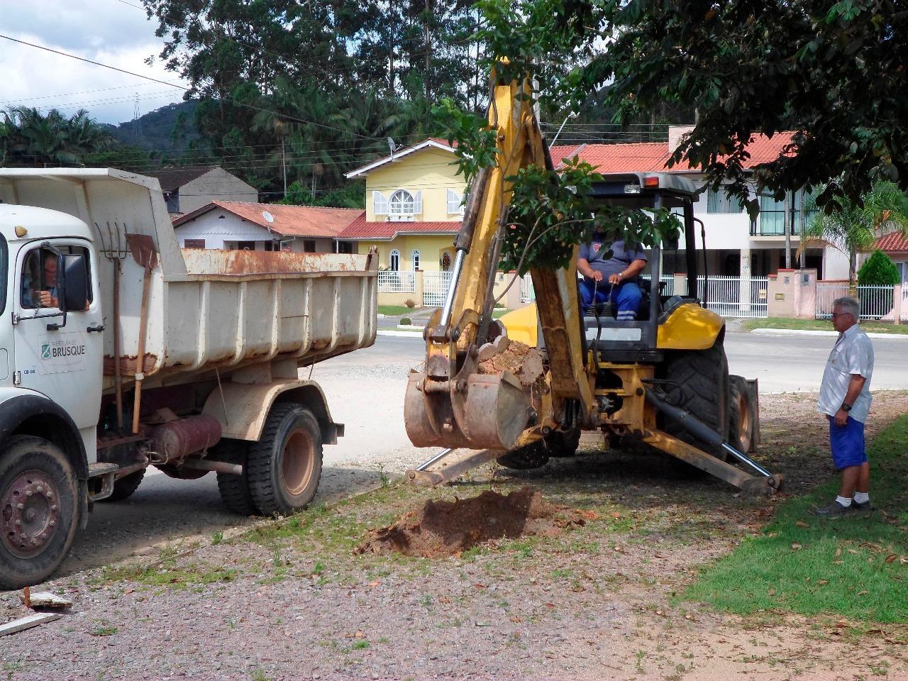 Prefeitura retira árvores plantadas por morador em praça do Maluche