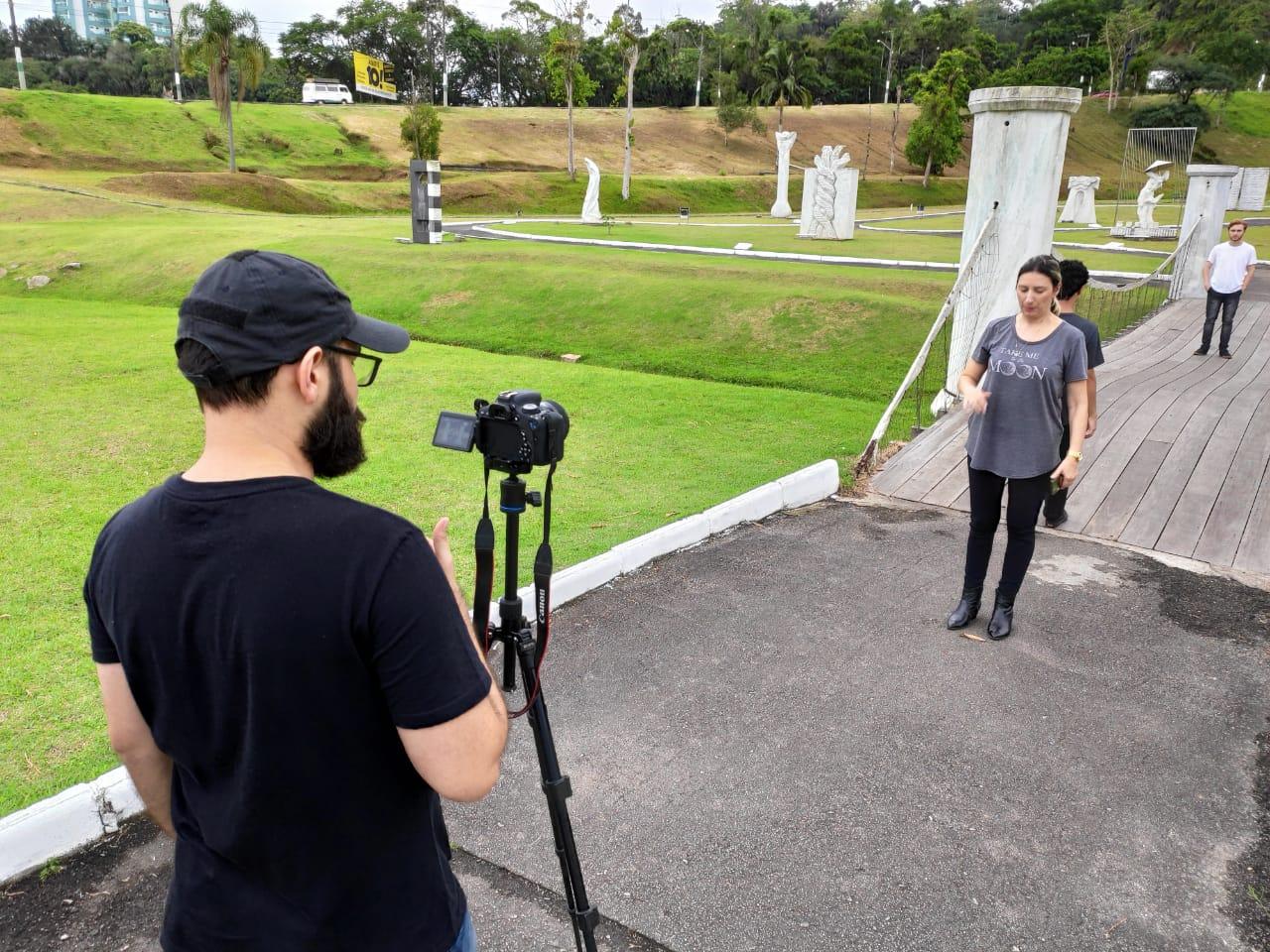 Em parceria inédita, Secretaria de Comunicação Social e Trama Grupo de Teatro produzem curta metragem de Natal