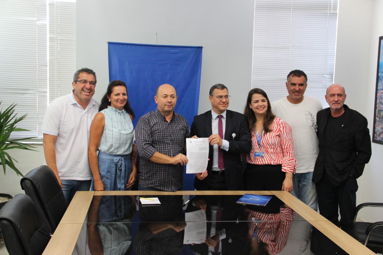 Prefeitura renova contrato com a Caixa Econômica Federal para serviços de Folha de Pagamento