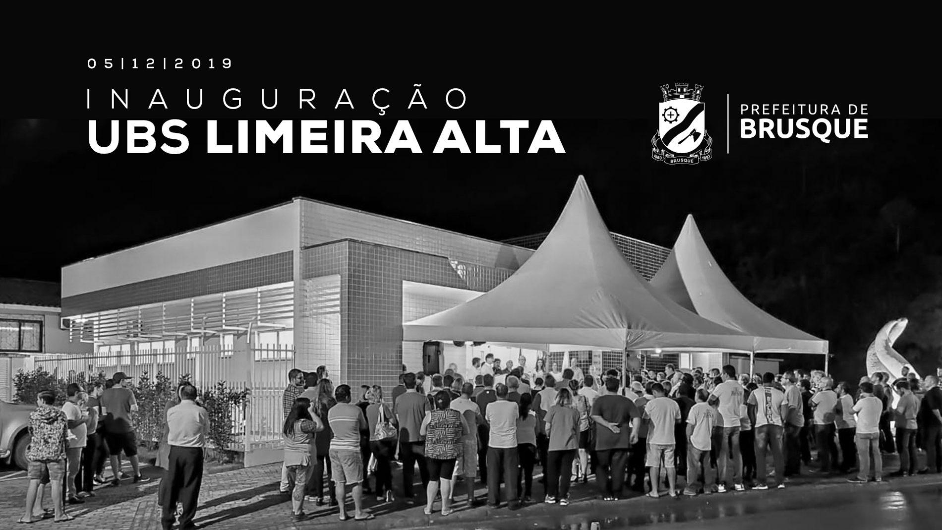 Prefeitura de Brusque inaugura UBS Limeira Alta