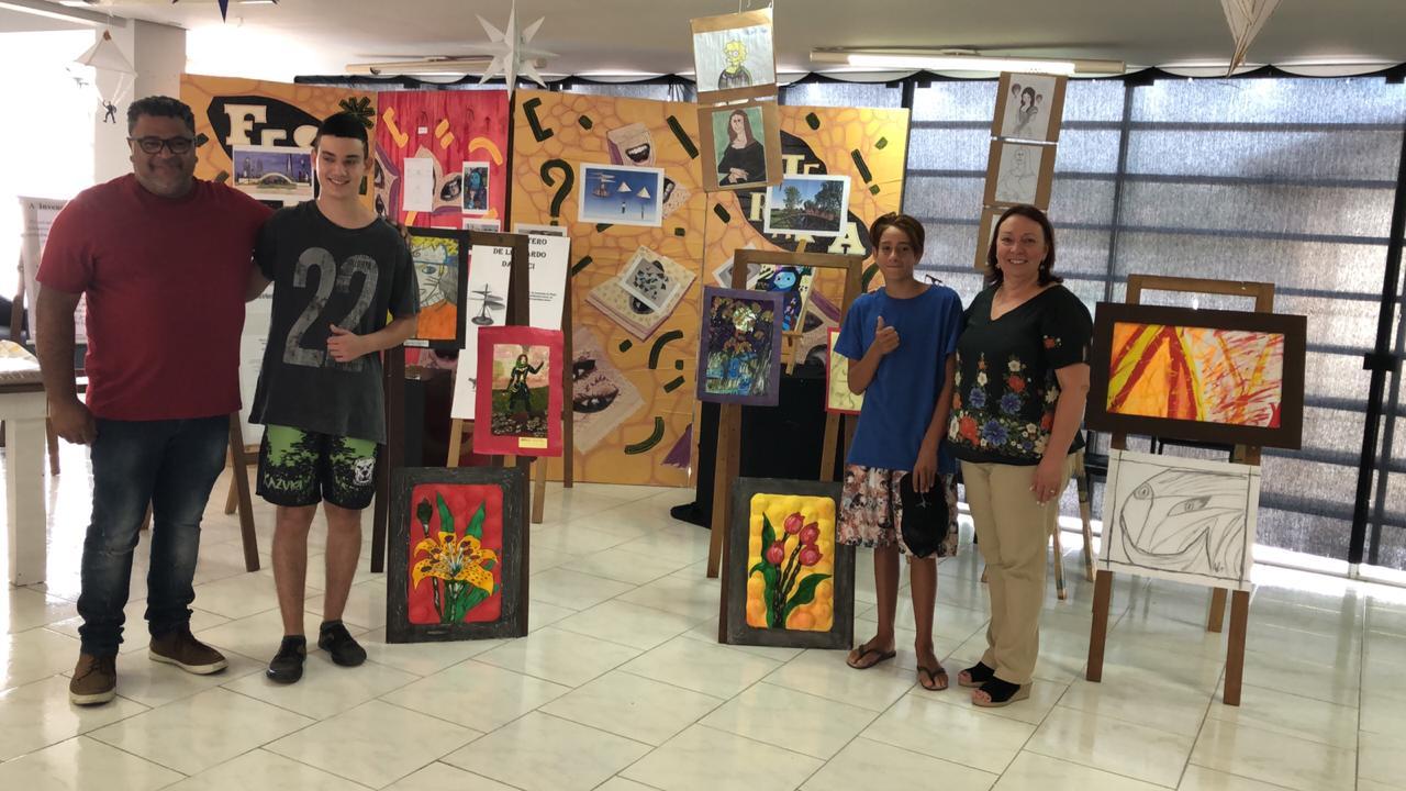 """Alunos do projeto """"Despertando Talentos"""" realizam mostra de projetos na Fundação Cultural"""