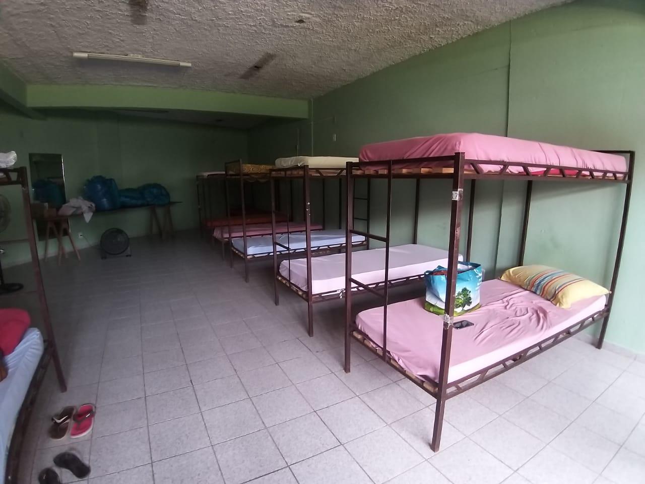 Cidade de Brusque ergue abrigo provisório para vítimas da chuva das últimas horas
