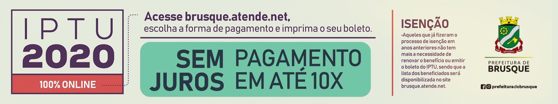 IPTU 2020 – Banner