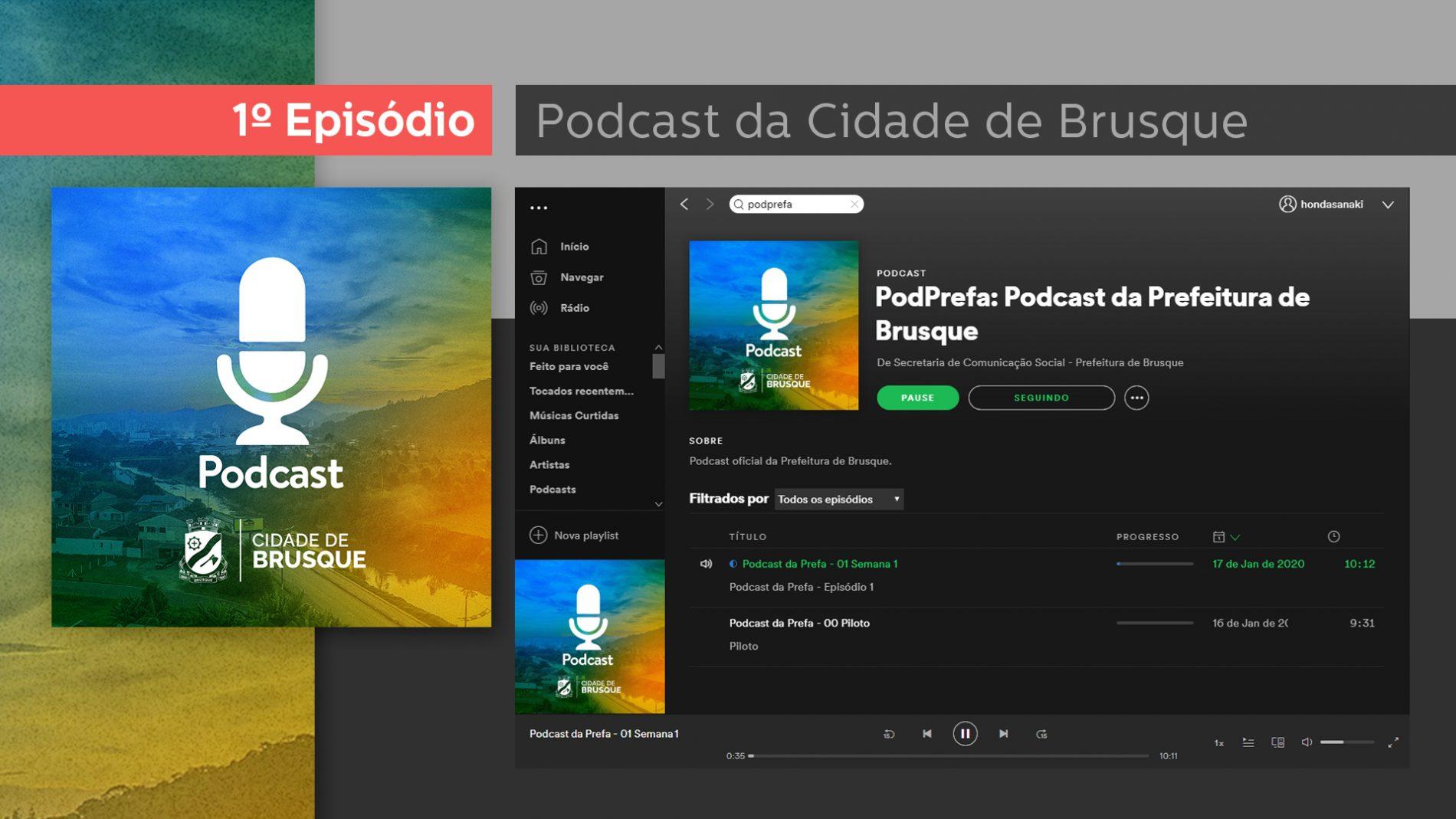 Episódio I do Podcast da Prefa já está no ar