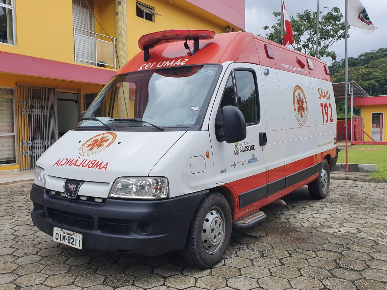 SAMU de Brusque já pode utilizar ambulâncias dos Bombeiros nas ocorrências