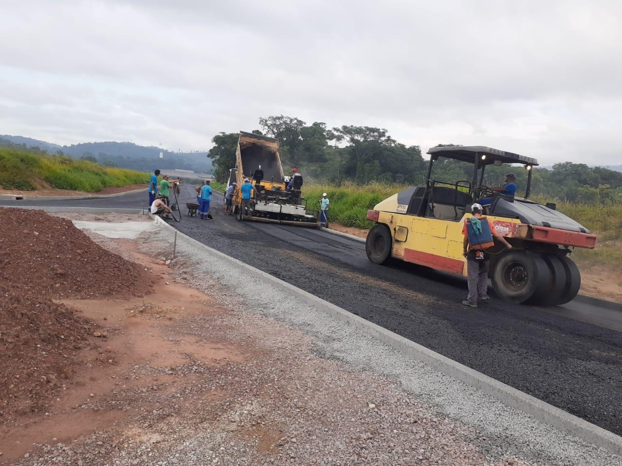Avançam as obras da margem direita da avenida Beira Rio