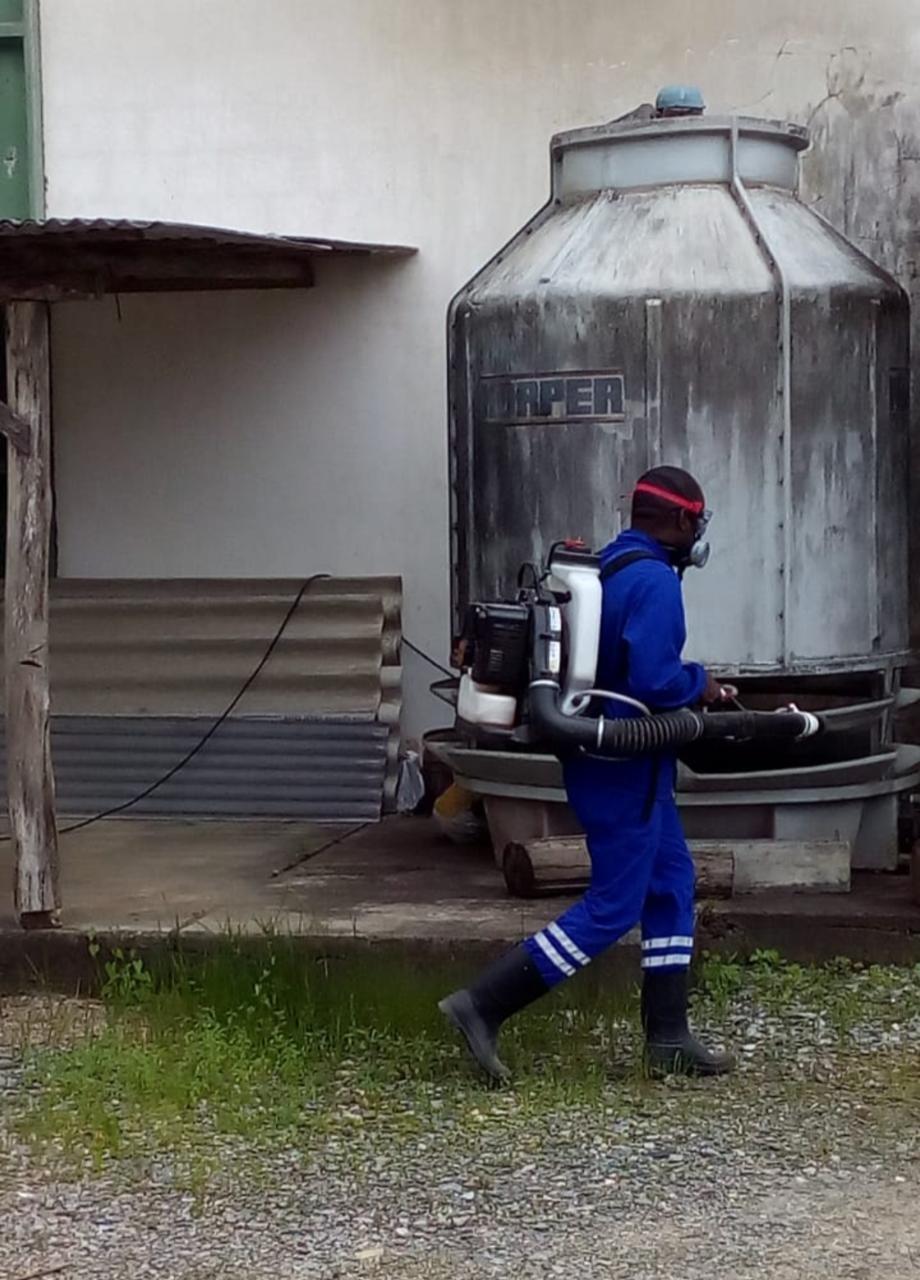 Com caso de dengue confirmado, bairro Nova Brasília receberá trabalho de bloqueio de transmissão, com uso de inseticida