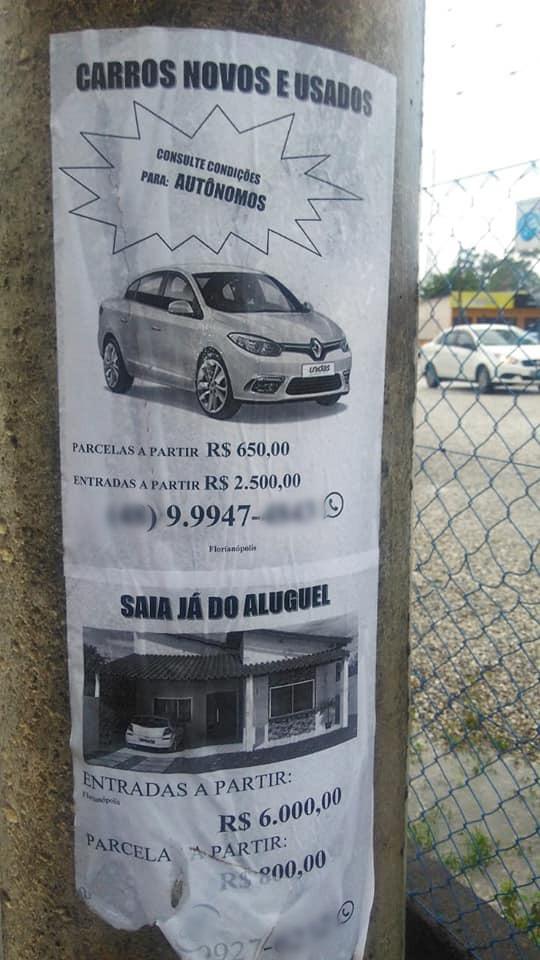 IBPLAN recebe denúncia de publicidade irregular no bairro Dom Joaquim