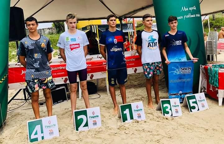 Natação Brusque/Havan/FME participa da segunda etapa do Circuito de Travessias da Fasc