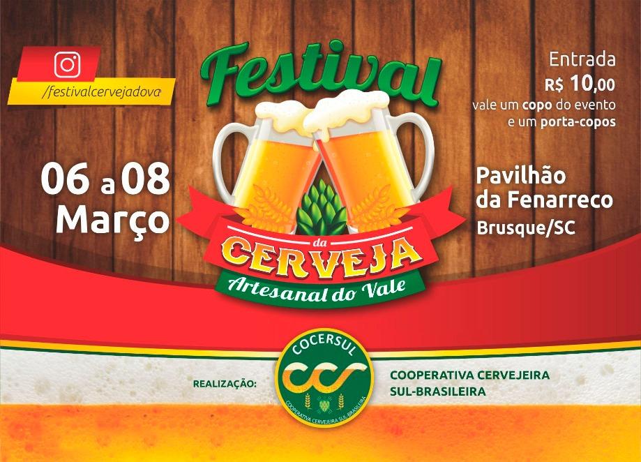 Primeiro Festival de Cerveja Artesanal do Vale reúne 19 cervejarias