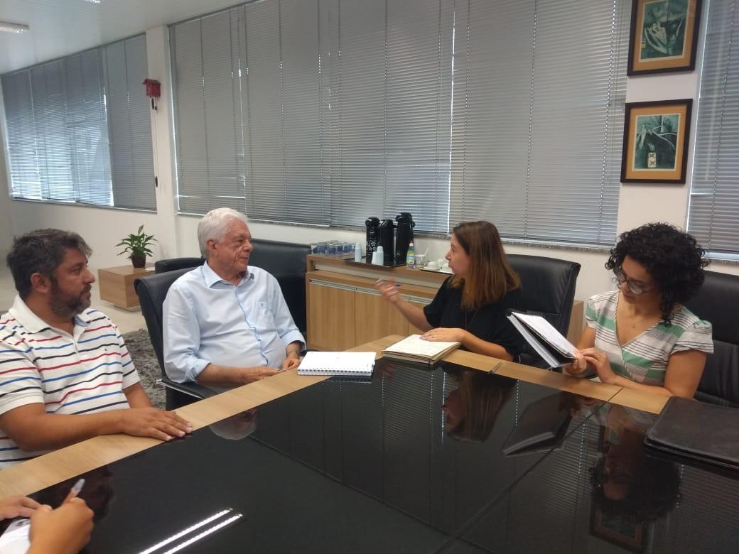 Poder Executivo e Ama Brusque discutem parcerias