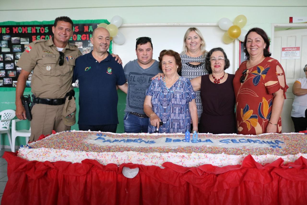 Escola Georgina de Carvalho Ramos da Luz completa 80 anos