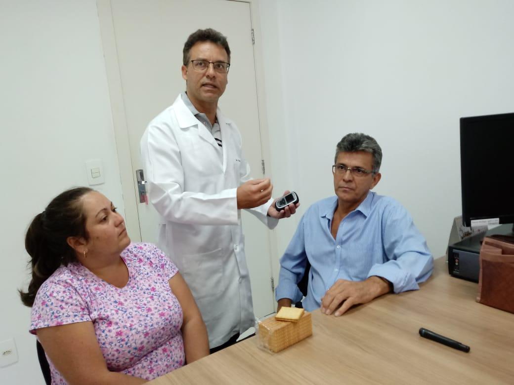 Morador do Santa Luzia é o primeiro paciente de Brusque a conseguir bomba de infusão de insulina