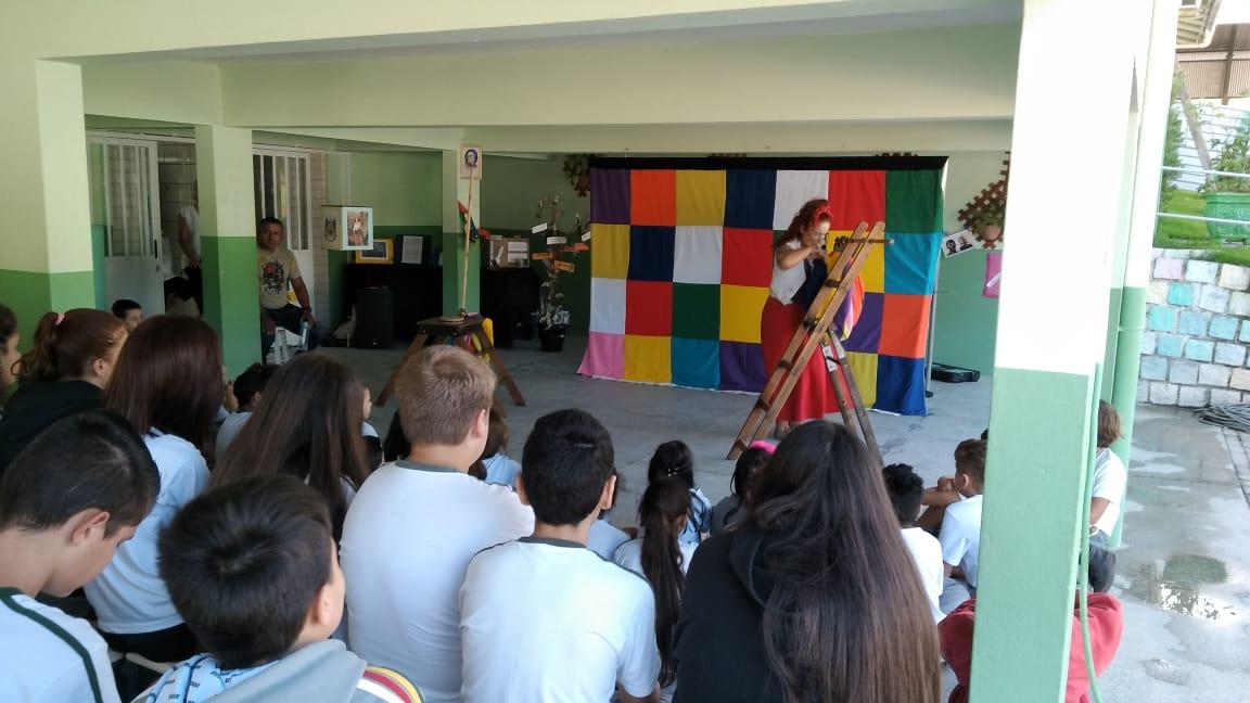 Assistência Social e Educação realizam ação voltada à sensibilização acerca do trabalho infantil