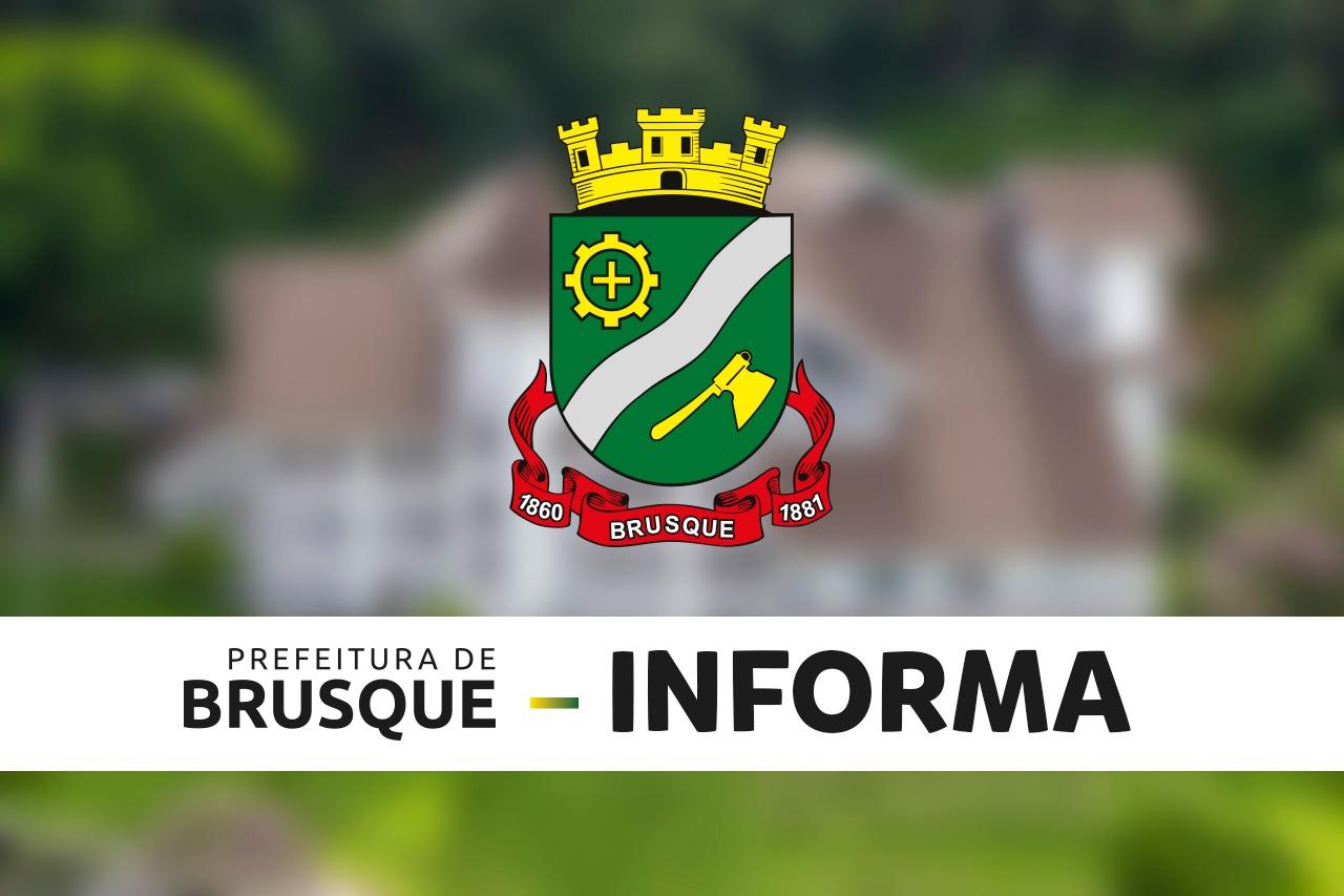 Prefeitura de Brusque anuncia novas medidas de combate ao coronavírus