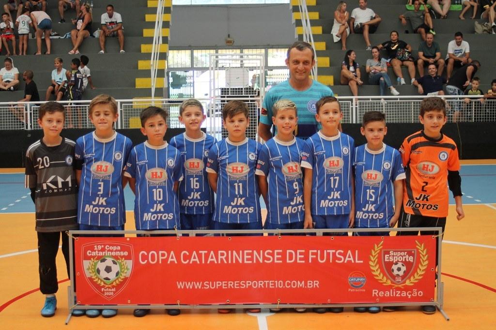 Guarani/FME Brusque estreia na 19ª edição da Copa Catarinense de Futsal