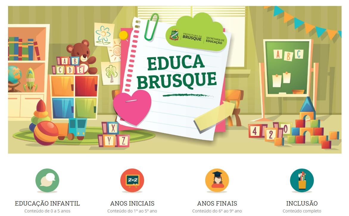 Secretaria de Educação disponibiliza plataforma com atividades educacionais