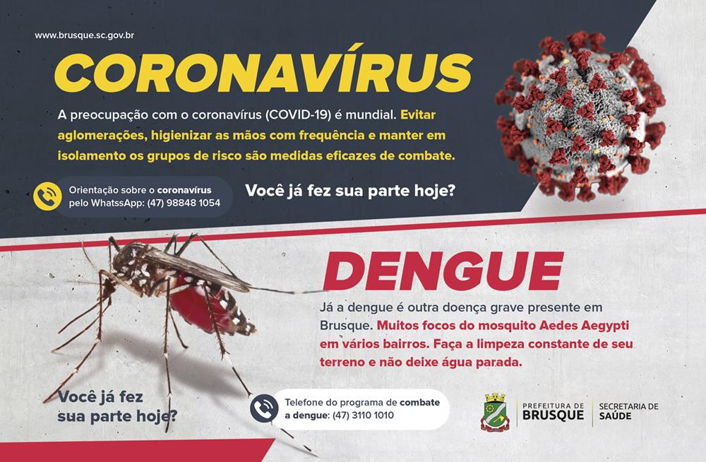 POPup – Dengue e corona