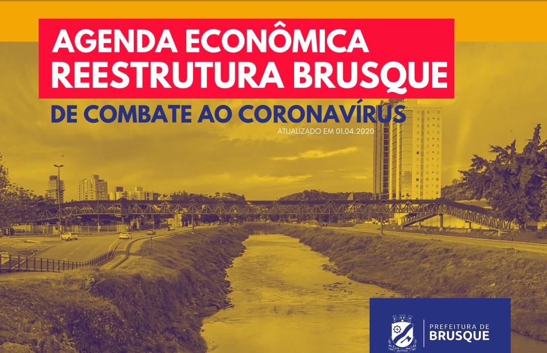 Prefeitura lança Agenda Econômica Reestrutura Brusque