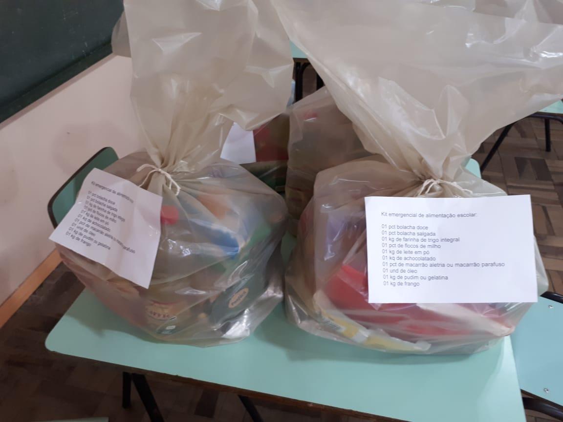 Secretaria da Educação estabelece critérios para distribuição de alimentos da merenda escolar