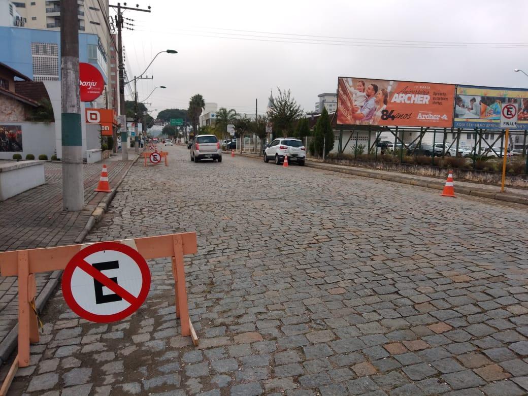 Pavimentação da Rua Pastor Sandrescky será realizada nesta sexta-feira(8)
