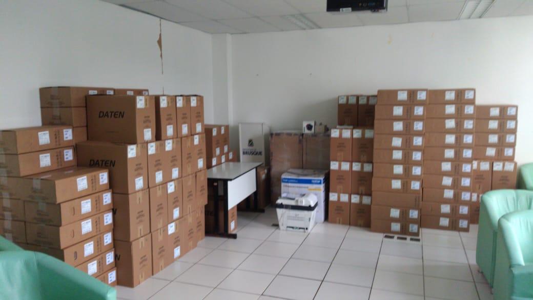 Secretaria da Saúde adquire 70 novos computadores que serão instalados nas UBS