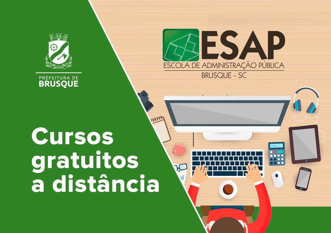 ESAP  divulga cursos on-line disponíveis para servidores se aperfeiçoarem