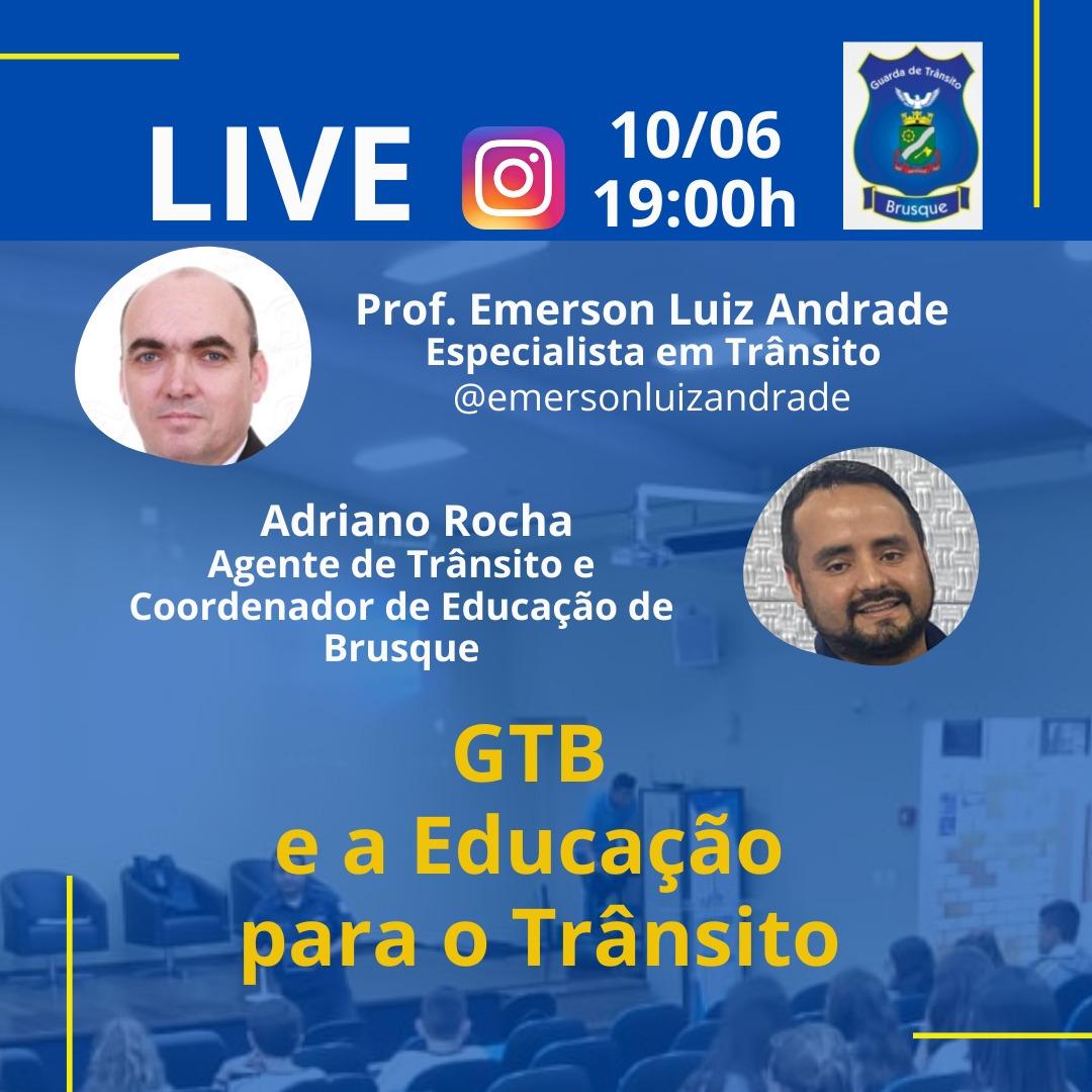 Educação no Trânsito é tema de live da GTB