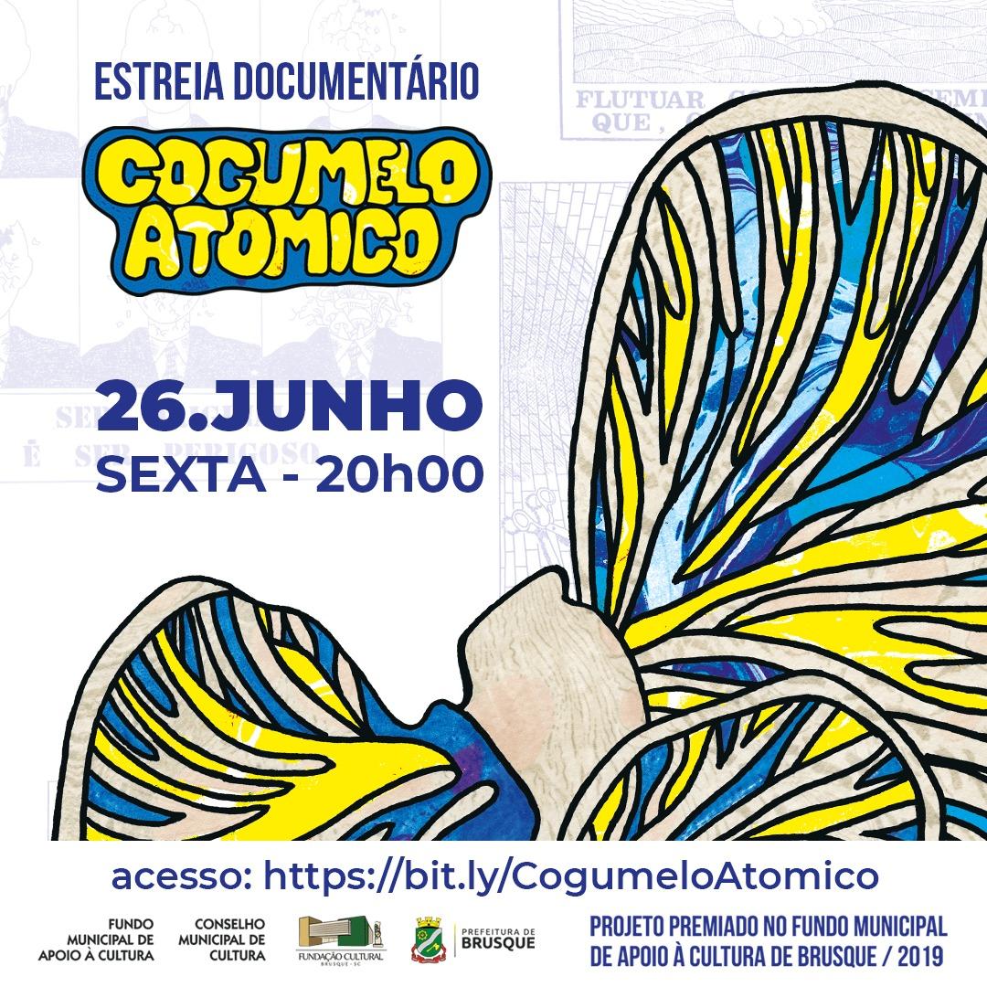 Documentário Cogumelo Atômico estreia dia 26